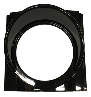 Plast front 100mm (tidigare version)