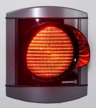 ALUSTAR 1-sken 210 mm röd
