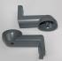 Set of Alu brackets-L105 mm (2 st)
