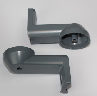 Set of Alu brackets-L105 mm (2 st)