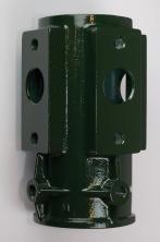 Klammerfäste grön