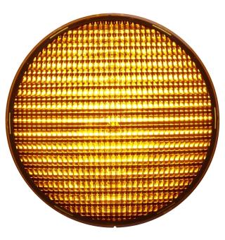 LED-enhet gul 210 mm 230 VAC
