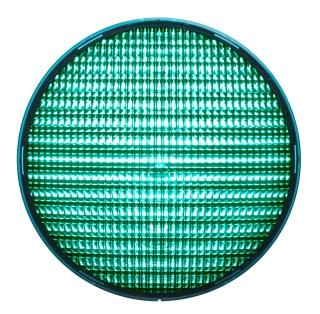 LED-enhet grön 210 mm 230 VAC