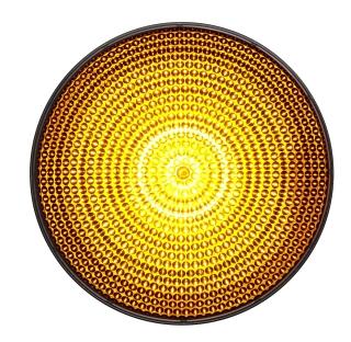 LED-enhet gul 100mm 230VAC
