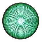 LED-enhet grön 100mm 230VAC
