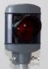 Alu-Star 1-sken Röd 100 mm, RÖR LED