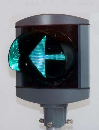 Alu-Star 1-sken V-pil Grön 210 mm, RÖR