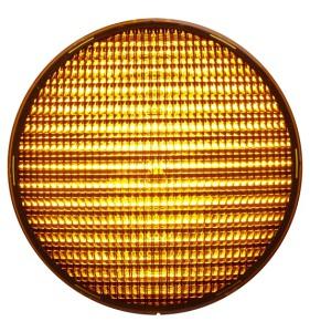 LED-enhet Gul 200mm LED 24VDC