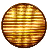 LED-enhet Gul 200mm LED 24VDC