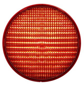 LED-enhet Röd 200mm LED 42VAC
