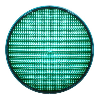 LED-enhet Grön 200mm LED 42VAC