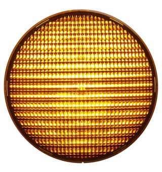 LED-enhet Gul 210mm LED 42VAC dimbar