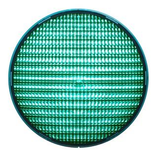 LED-enhet Grön 210mm LED 42VAC dimbar