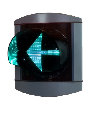 Alu-Star 1-sken V-pil Grön 210 mm, DSI